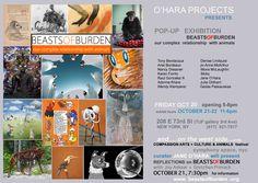 BEASTS of BURDEN Oct 20-22, 2017 announcement