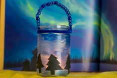 Northern Lights Lantern Craft — Here We Are Together