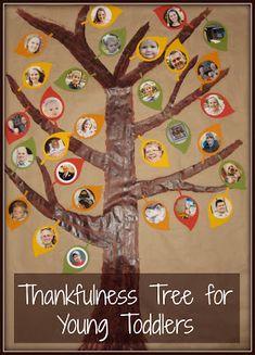 Toddler Thankfulness Tree - The Activity Mom