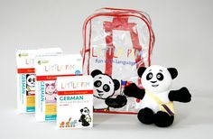 German Backpack Plus Gift Set - if I ever have another baby I'm buying this