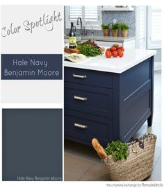 Benjamin Moore Hale Navy is a trifecta perfect paint color that works in almost any space, interior or exterior.