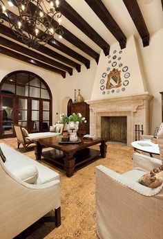 SPANISH HOUSE 62 Lake Conroe Residence By Jauregui Architecture Interiors