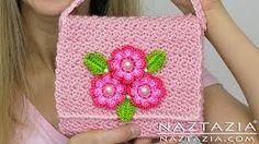 crochet bag - YouTube