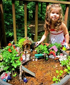 MomArtScience: Fairy garden