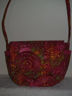 Batik Handbag FOR SALE $35.00 plus tax/shipping. Check out this bag and more at The Bar Harbor Bag Lady on facebook.