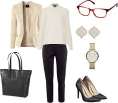 Warby Parker optical outfit pairing
