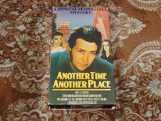 Another Time, Another Place (VHS, 1990s) Rare OOP HTF Martin Sheen/Joe Estevez!