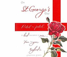 St Georges Day Quotes Sayings Bible Verses Poems Happy St George's Day, Patron Saint Of England, Remembrance Day Art, Festival Information, Fb Timeline Cover, St Georges Day, Fb Status, Banner Images, Wishes Images