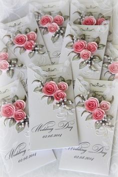 Wedding invitations handmade templates cards 63 ideas for 2019 Handmade Envelopes, Handmade Wedding Invitations, Card Envelopes, Wedding Invitation Cards, Wedding Cards Handmade, Handmade Gift Tags, Kirigami, Wedding Anniversary Cards, Flower Cards