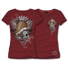 Football Mom Tee Shirt