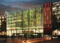 Urbanana: concepto para una granja vertical tropical