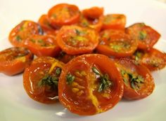 Pomodorini ciliegino di Pachino confit