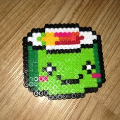 Sushi perler beads by perlercentral