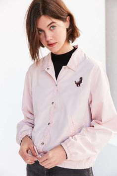 BDG Dino Coach Jacket - Urban Outfitters