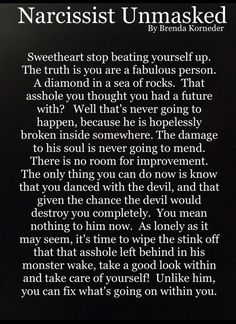 The narcissist unmasked Narcissistic People, Narcissistic Abuse Recovery, Narcissistic Behavior, Narcissistic Sociopath, Narcissistic Personality Disorder, Narcissistic Sister, Relationship With A Narcissist, Narcissist Quotes, Toxic Relationships