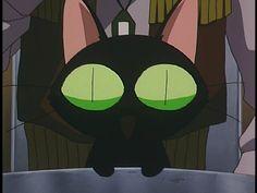 So cute :) I love his meow Manga Anime, Anime Cat, Vash, Cowboy Bebop, Superhero Logos, Otaku, Pop Culture, Nerd, Geek Stuff