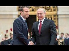 Путин 2017 во Франции говорит о русских хакерах и Марин Ле Пен