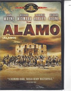 VHS-THE ALAMO - JOHN WAYNE , RICHARD WIDMARK  - CLASSIC !!!