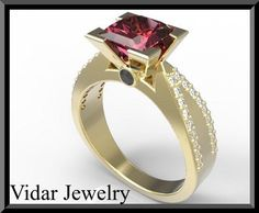 #vidarjewelryArtfire on Artfire                     #ring                     #Elegant #Ruby #Diamond #Yellow #Gold #Engagement #Ring                       Elegant Red Ruby And Diamond 14k Yellow Gold Engagement Ring                                            http://www.seapai.com/product.aspx?PID=199252