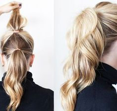 Ponytail Hairstyles Thin Hair