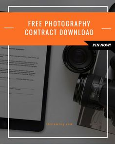 Free Photography Contract Download