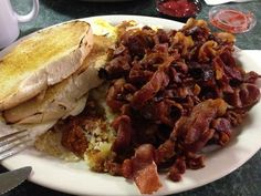 Tony's I-75 Restaurant.  Home of the giant BLT Sandwich. Omg. Borch Run MI. MUST.GO.NOW!