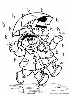 Sesame Street Coloring Pages qy5CC