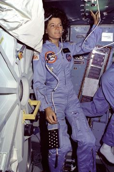 Sally Ride, First American woman in space.