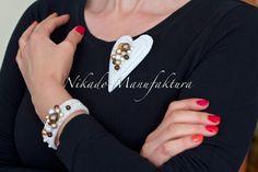 jewelry made of felt