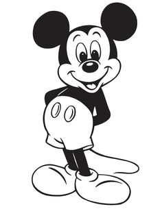 19 Best Mickey Coloring Pages Images Coloring Pages Coloring