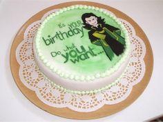 Loki Birthday cake