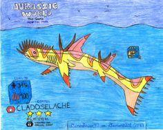 Jurassic World: The Game - Cladoselache! by DinoBrian47 on DeviantArt