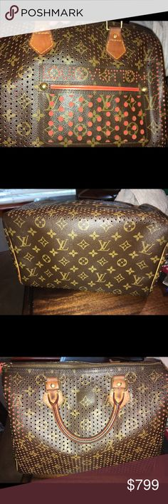 6691f28531b2 Louis Vuitton Speedy 30 Perforated Reposting purse due to Posh cancelling  the order after it sold