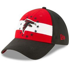 a5196db6416 Atlanta Falcons New Era 2019 NFL Draft On-Stage Official 39THIRTY Flex Hat  – Red