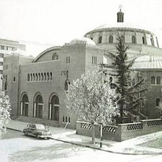 Great Synagogue - Wolmarans Street. Circa 1950