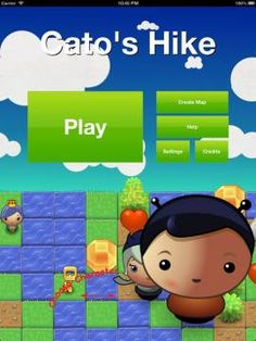 Cato's Hike: A Programming and Logic Odyssey - a puzzle game introducing kids to various programming and problem solving concepts. Appysmarts score: 85/100