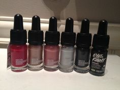 Lush Cosmetics Makeup Swatches! Click through to see more!