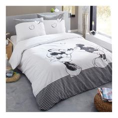 housse de couette mickey adulte valdiz. Black Bedroom Furniture Sets. Home Design Ideas