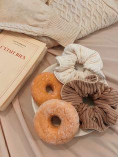 Scrunchies, Doughnut, Desserts, Food, Tailgate Desserts, Deserts, Essen, Postres, Meals