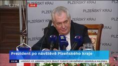 Prezident Zeman: Česká televize se stává špatnou komerční televizí