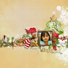 scrapbooking ideas layouts for christmas - Google Search