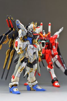 Custom Build: MG 1/100 Infinite Justice Gundam + Conversion kit - Gundam Kits Collection News and Reviews
