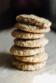 Lemon Hemp Seed Cookies