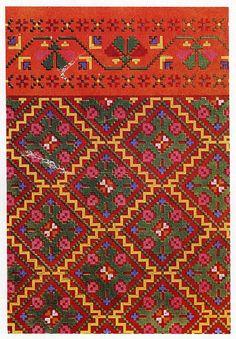 Knitted Mittens of Nica, Kurzeme province, Latvia