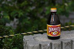 """One of MANY types of """"genki"""" drinks in Japan. 14oct14. Kobe, Japan."""