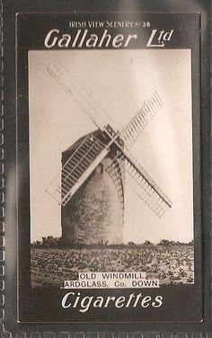 GALLAHER-IRISH VIEW SCENERY BLOCK-#038- OLD WINDMILL ARDGLASS COUNTY DOWN | eBay