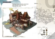 GGSCHOOL, Artist 배진영, Student Portfolio for game, 2D Scene Concept Art, www.ggschool.co.kr