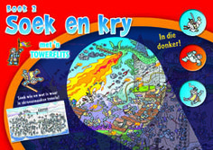 NB Publishers | Book Details | Soek en kry in die donker: Boek 2 Book Publishing, Music Instruments, Musical Instruments