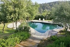 Santa Teresa Gallura, a tourist rental villa located in Porto Cervo, Sardinia. Beautiful Pools, Beautiful Places, Swimming Pool Pond, Glass Pool, Outdoor Spaces, Outdoor Decor, Outdoor Ideas, Plunge Pool, Mediterranean Homes