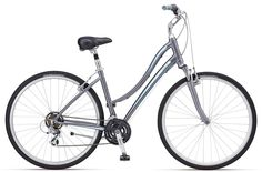 Giant Cypress W (Silver/ Turquoise/White) Comfort Bike